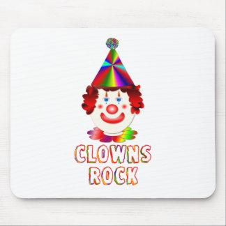 Clowns Rock Mouse Mat