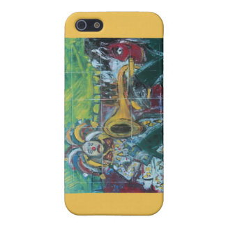 CLOWNS TRUMPET PLAYER iPhone 5/5S COVERS