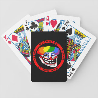 Clownsec Clown Army Playing Cards! Bicycle Playing Cards