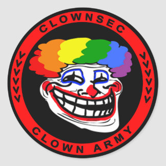 Clownsec Troll Sticker