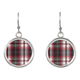 CLS Positively Plaid Dangle Earrings