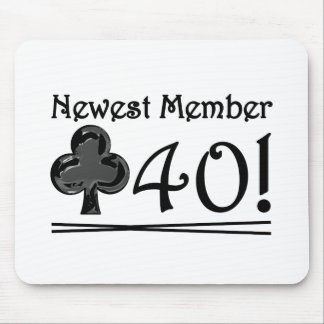 Club 40 mouse pad