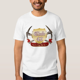 Club 49 Ladies AA Cotton Spandex Top Shirt