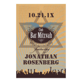 Club Bar Mitzvah Poster
