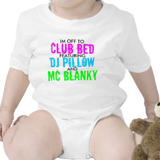 Club Bed Tee Shirts