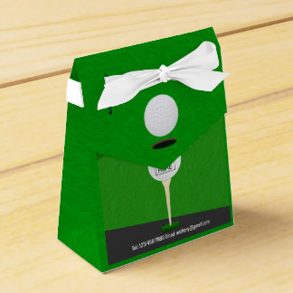 Club/Corporate Golf Tournament add logo Thank You Party Favour Box