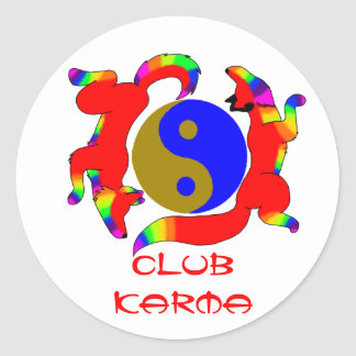 Club Karma Sticker