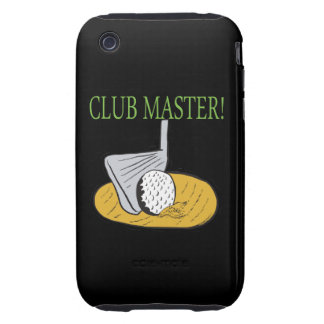 Club Master Tough iPhone 3 Cover
