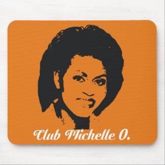 Club Michelle O. Mousepad In Pumpkin