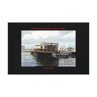 Club Nautical (To Corunna) /Nautical Club (To Canvas Print