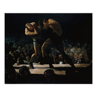 Club Night by George Bellows Poster