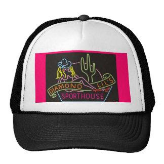 club night neon trucker hat