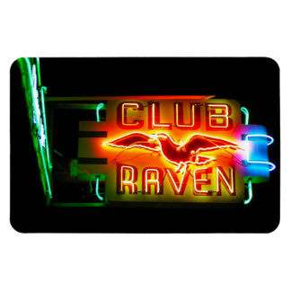 Club Raven Magnet