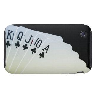 Club Royal Flush iPhone 3 Tough Cases