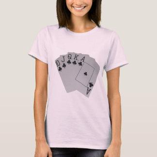 Club_Royal_Flush,_Ladies_Pale_Pink_T-shirt. T-Shirt