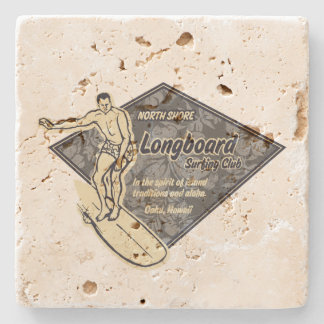 Club Surfing Diamond Hawaiian Tiki Bar Coasters