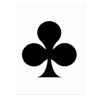 Club symbol post card