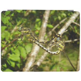 Club-tailed Dragonflies Mating iPad Cover