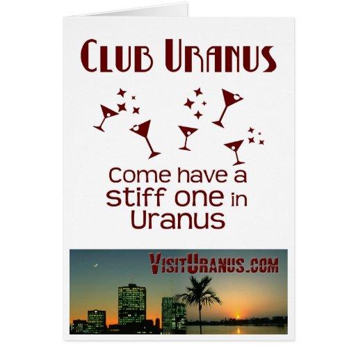 Club Uranus Cards