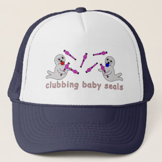 Clubbing Baby Seals Trucker Hat