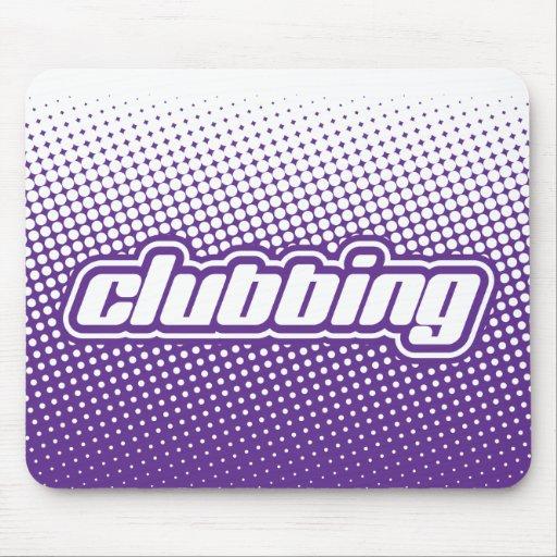 clubbing purple mouse pads