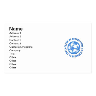 Clube os Futebolicos Pack Of Standard Business Cards