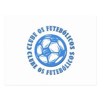 Clube os Futebolicos Postcard