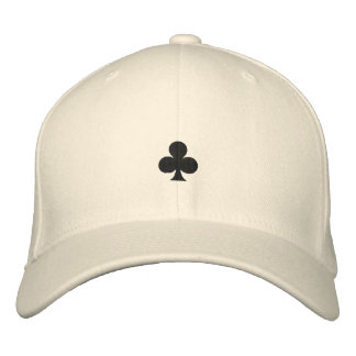 Clubs Embroidered Hat