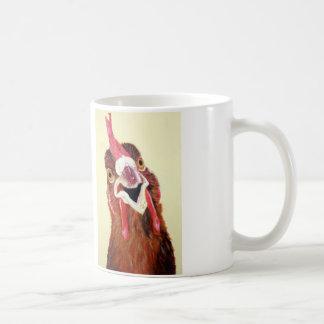 Clucky the Chicken mug