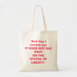 Clueless Against Immigration Ban Tote Bag