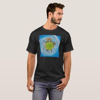 cluj napoca city romania little planet landmark ar T-Shirt