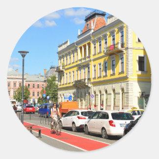 Cluj Napoca, Romania Classic Round Sticker