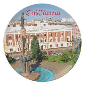 Cluj-Napoca, Romania Plate