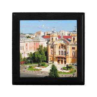 Cluj-Napoca, Romania Small Square Gift Box