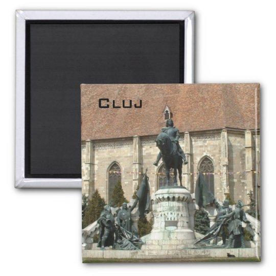 Cluj Square Magnet