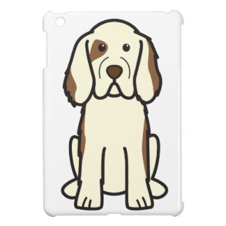 Clumber Spaniel Dog Cartoon iPad Mini Case