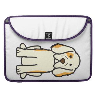 Clumber Spaniel Dog Cartoon Sleeve For MacBooks
