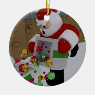 """""""Clumsy Clause"""" Christmas Ornament"""