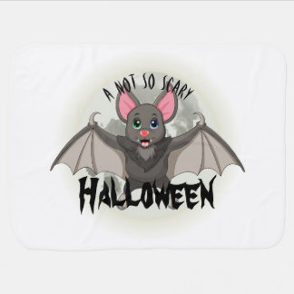 Clumsy, The Little Bat & A Not So Scary Halloween Baby Blanket