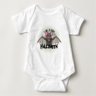 Clumsy, The Little Bat & A Not So Scary Halloween Baby Bodysuit