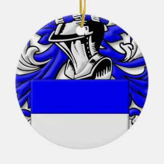 Clunn Coat of Arms Ornament