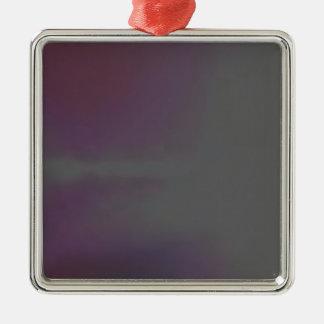 cluod Silver-Colored square decoration