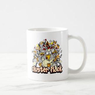 Cluster Flock Coffee Mug