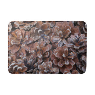 Cluster of Pine Cones Bath Mat