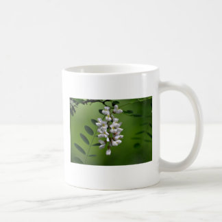 Cluster of White Flowers Coffee Mugs