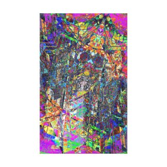 Cluster Study Canvas Print