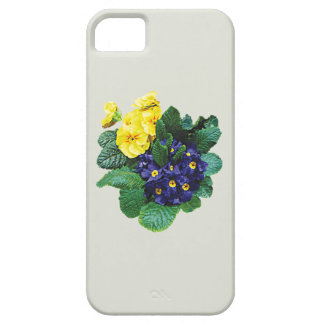 Clusters of Purple and Yellow Primroses iPhone 5 Covers