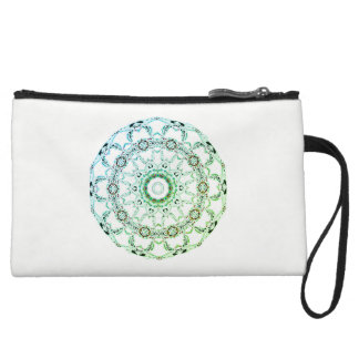 Clutch Bag green white Custom