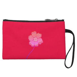 Clutch Bag pink Floral Custom