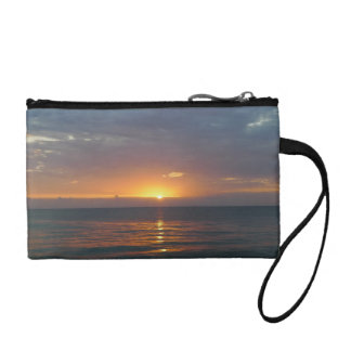 Clutch with Sunset Coin Wallet